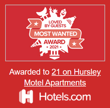 Loved by Guests 2021 Hotels.com - 21 on Hursley